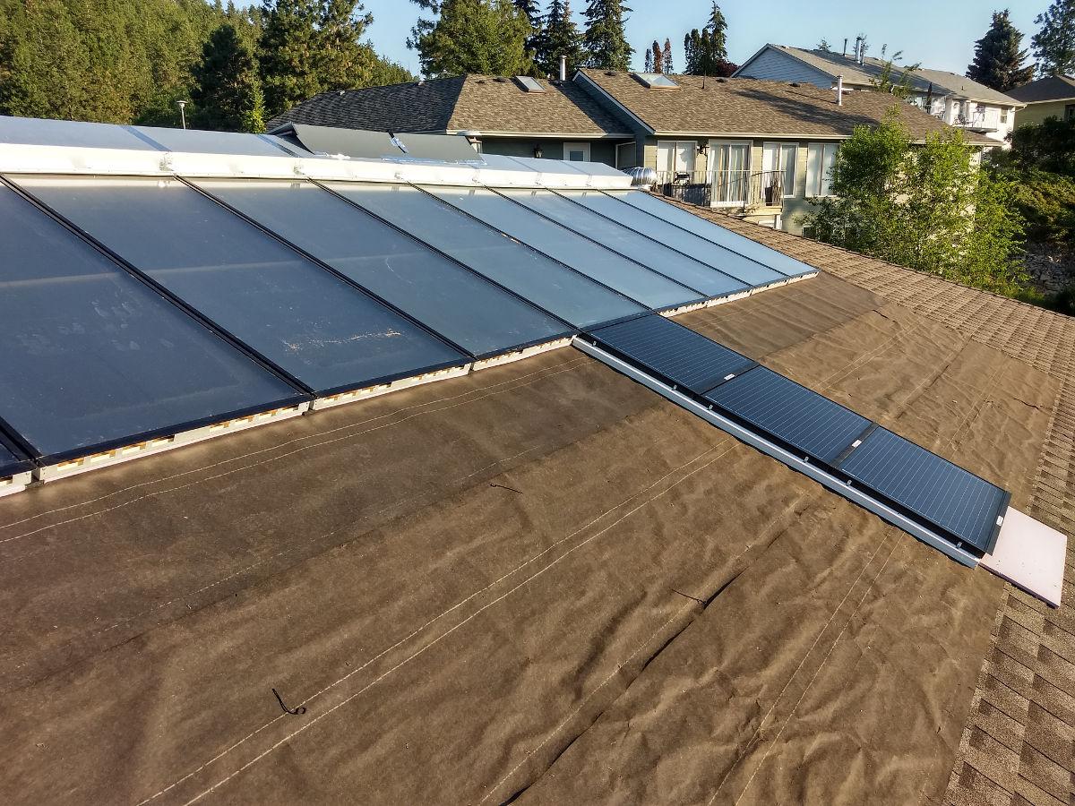 Attending Solar Canada 2018 After Finishing Installation