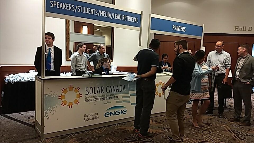 Attending Solar Canada 2018