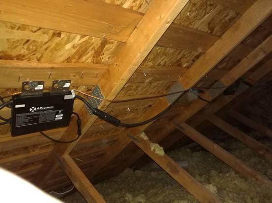 BIPV attic modification